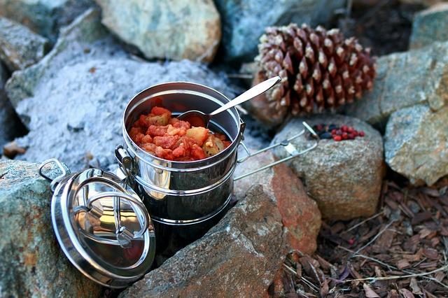 que cuisiner en camping