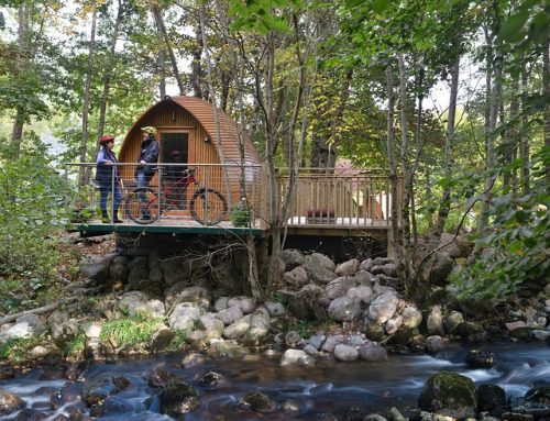 Que signifie glamping ?