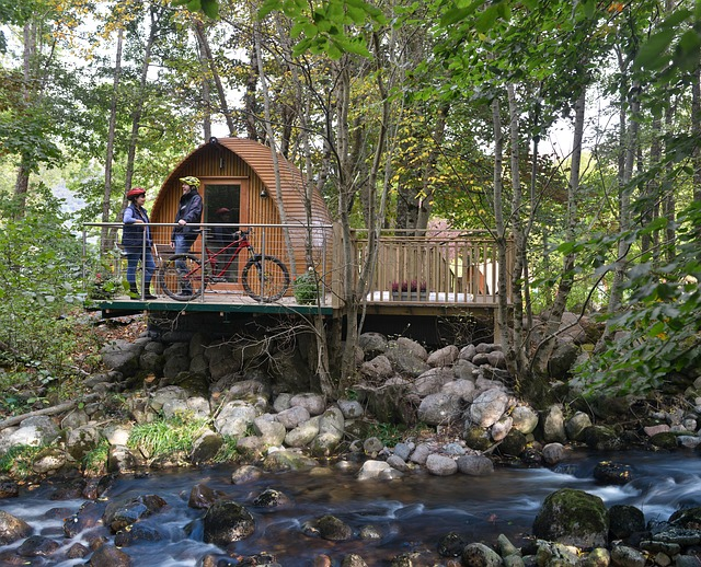 Que signifie glamping